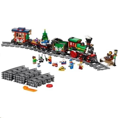 Lego Christmas.Lego 10254 Creator Expert Winter Holiday Train Set