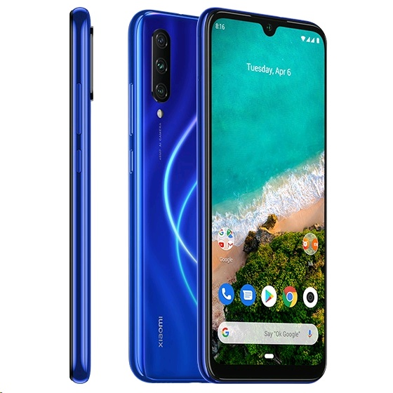 Xiaomi Mi A3 Dual-SIM Android One, 4GB/64GB, Not just Blue