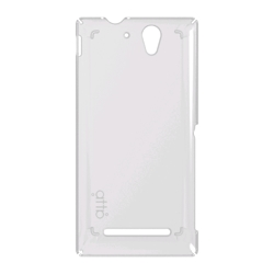 atta Crystal Air Snap On Case - tok, hátlap - Xperia C3