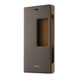 Huawei View Flip Case for P8 Brown