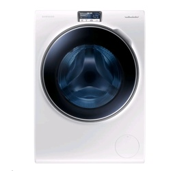 Samsung WW9000 Washing Machine with ecobubble (10KG, White, WW10H9600EW/EU)