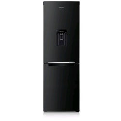 Samsung Fridge Freezer with Digital Inverter Technology (RB29FWRNDBC/EU, 288L, Black, )