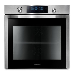 Samsung NV7000F Electric Oven Hood with Dual Cooking (NV70F7786HS/EU, Twin Convection, 70 L)