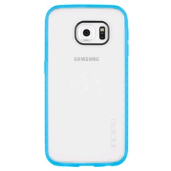 Incipio Galaxy S6 edge Octane Protective Case (GP-G925ICCPBHU, Frost/Neon Blue)