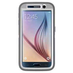 OtterBox Defender Series Galaxy S6 Case (GP-G920OBCPBPE, Grey)