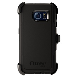OtterBox Defender Series Galaxy S6 Case (GP-G920OBCPBOE, Black)