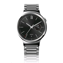 Huawei Watch with Link Band Silver