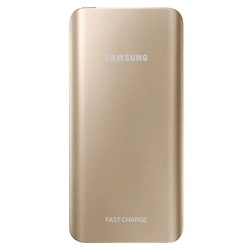 Samsung Rechargable Battery Pack with Fast Charging (EB-PN920UFEGWW, Gold, 5200mAh)
