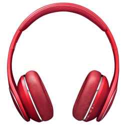 Samsung LEVEL On Wireless Headphones (EO-PN900BREGWW, Red)