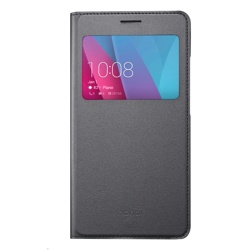 Honor 5X View Flip Cover Grey