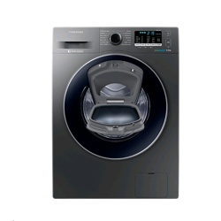 Samsung WW5500 AddWash Washing Machine with ecobubble (WW80K5413UX/EU, 8kg, Graphite)