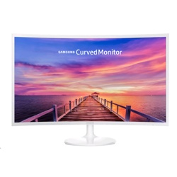 Samsung 32'' Curved Monitor White 1800R Screen Curvature (LC32F391FWUXEN)