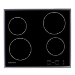 Samsung Electric Hob with Residual Heat Indicator (C61R1AAMST/XEU)