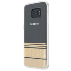 Incipio Design Series Wesley Stripes for Galaxy S7 edge (GP-G935ICCPYAD, Gold)