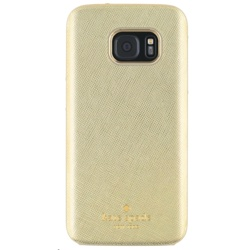 Incipio Kate Spade Wrap Case for Galaxy S7 (GP-G930ICCPVAC, Saffiano Gold)