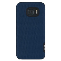 Incipio TUMI Leather Snap Case for Galaxy S7 (GP-G930ICCPQAC, Split Leather Atlantic Blue)