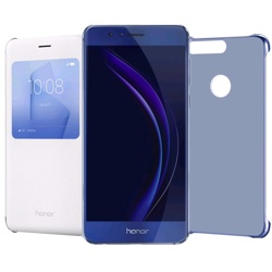 Honor 8 +  un PC cover ed un Flip Viewcover Sapphire Blue, WEU