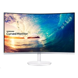 Samsung 27 Advanced Curved Monitor 1800R screen (LC27F581FDUXEN)