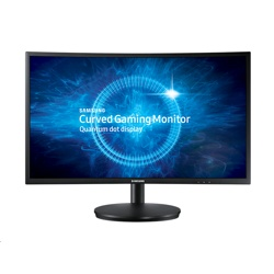 "Samsung 24"" 144Hz Curved Professional Gaming Monitor (LC24FG70FQUXEN)"