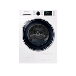Samsung DV6000 Tumble Dryer with Heat pump technology 8Kg (DV80K6010CW/EU, White)
