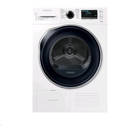 Samsung DV6000 Tumble Dryer with Heat Pump Technology, 9kg (DV90K6000CW/EU, White )