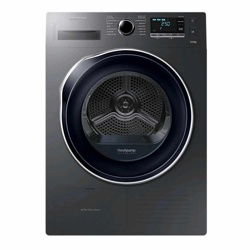 Samsung DV6000 Tumble Dryer with Heat Pump Technology, 9kg (DV90K6000CX/EU, Inox)