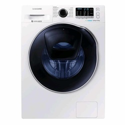 Samsung WD5500K AddWash™ Washer Dryer with ecobubble™, 8kg (WD80K5410OW/EU, White)