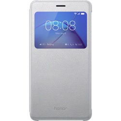 Honor 6X View Flip Cover Silver