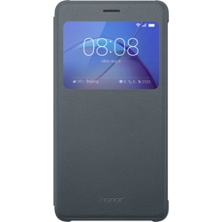 Honor 6X View Flip Cover Grey