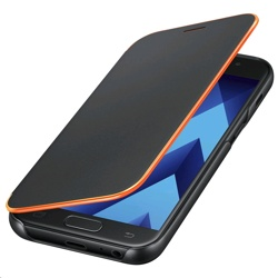 Samsung Galaxy A3 2017 Neon Flip Cover (Black)