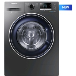 Samsung WW5000 8kg Ecobubble Graphite Washing Machine (WW80J5456FX/EU, Graphite Black)