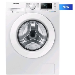 Samsung WW5000 9kg Ecobubble White Washing Machine (WW90J5456MW/EU, White)