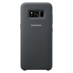 Samsung Galaxy S8 Soft Touch Cover (EF-PG950TSEGWW, Grey/Silver)