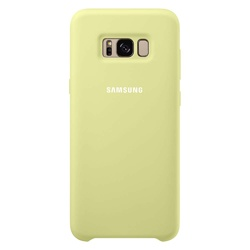 Samsung  Galaxy S8 Soft Touch Cover (EF-PG950TGEGWW, Green)