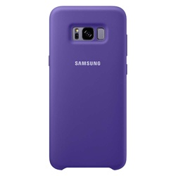 Samsung  Galaxy S8 Soft Touch Cover (EF-PG950TVEGWW, Violet)