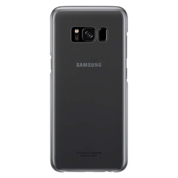 Samsung Galaxy S8+ Clear Cover (EF-QG955CBEGWW, Black)