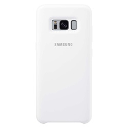 Samsung  Galaxy S8+ Soft Touch Cover (EF-PG955TWEGWW, White)
