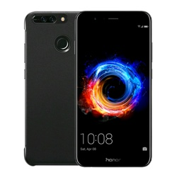 Honor 8 Pro + Free Flip Case WEU, 64GB, Black