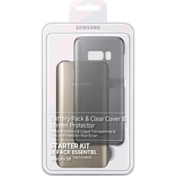 S8 Starter Kit1: Cover, Screen Protector & Battery