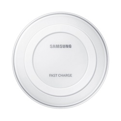 Samsung Fast Wireless Charging Pad  with Travel Adaptor (EP-PN920TWEGGB, White)