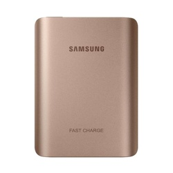 Samsung Ultra Fast Charge Battery Pack (10,200mAh) 25W (EB-PN930CZEGWW, Pink Gold)