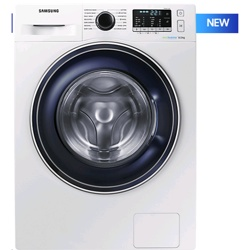 Samsung WW5000 8kg Ecobubble Washing Machine (WW80J5555FW/EU)