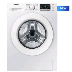 Samsung WW5000 8kg Ecobubble White Washing Machine (WW80J5355MW/EU)