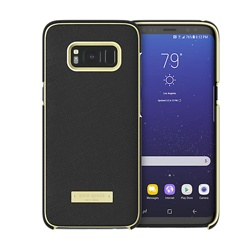Samsung Galaxy S8 Kate Spade Saffiano Wrap Case (GP-G950ICCPCAA, Black )
