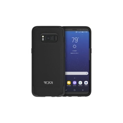 Samsung Galaxy S8+ TUMI Leather CoMold case (GP-G955ICCPHAB, Black)
