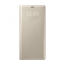 Samsung Galaxy Note 8 LED Standing Cover (EF-NN950PFEGWW, Gold)
