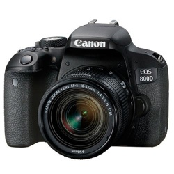 Canon EOS 800D Digital SLR Camera + 18-55mm STM Lens
