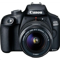 Canon EOS 4000D Body + EF-S 18-55mm III Lens