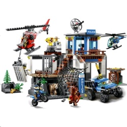 Lego 60174 City Police Mountain Police Headquarters Set