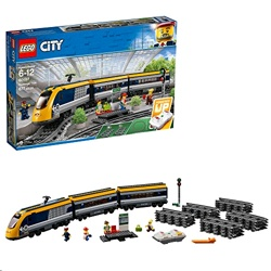 Lego 60197 City Passenger RC Train Toy Construction Track Set